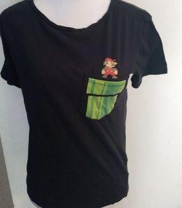 Super Mario bros Vans shirt